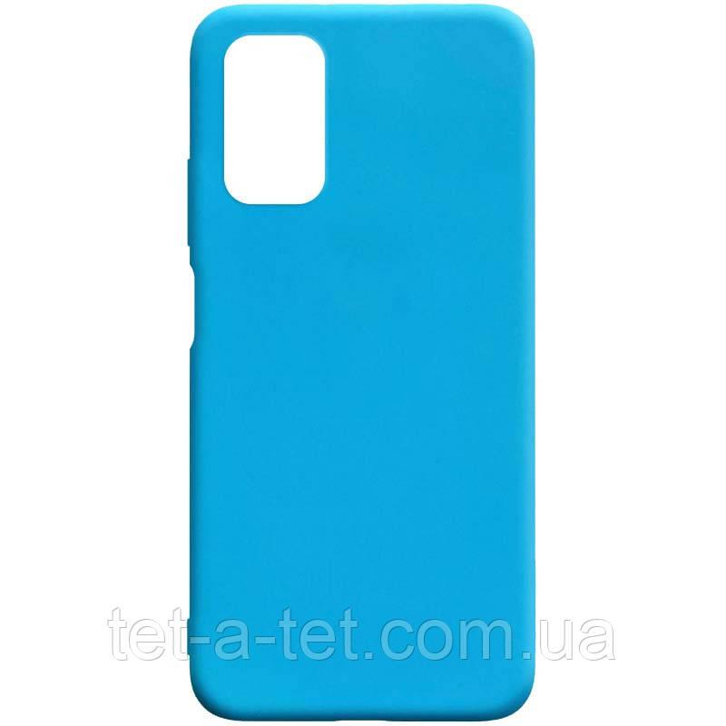 Чохол силіконовий Candy для Xiaomi Redmi 9T Light Blue