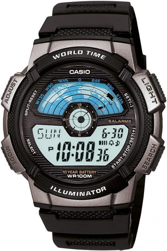 Часы Casio AE-1100W-1AVEF (мод.№3264)