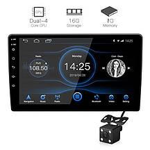 Автомагнитола 2DIN X91 ANDROID 9.1 с экраном 9 дюймов USB BT GPS навигация Wi-fi магнитола магнитофон