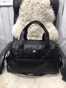 Женская дорожная сумка из кожзама с логотипом 49*30*21 см