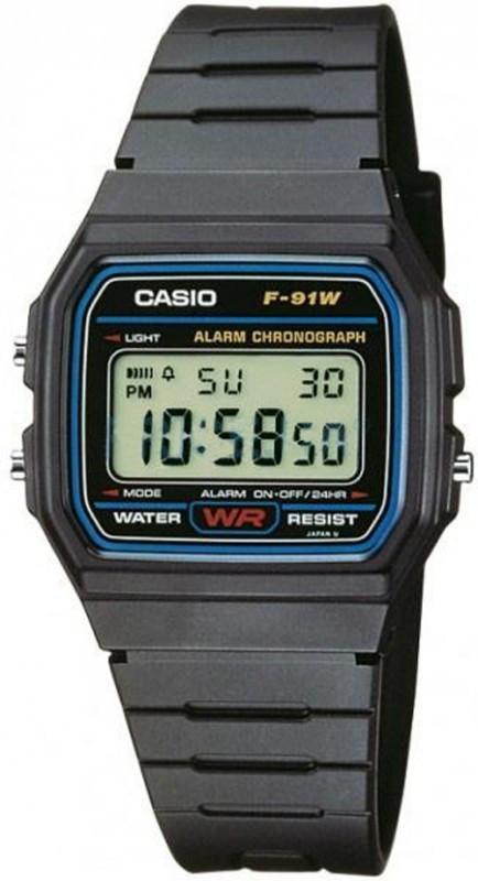 Часы Casio F-91W-1Q (мод.№593)