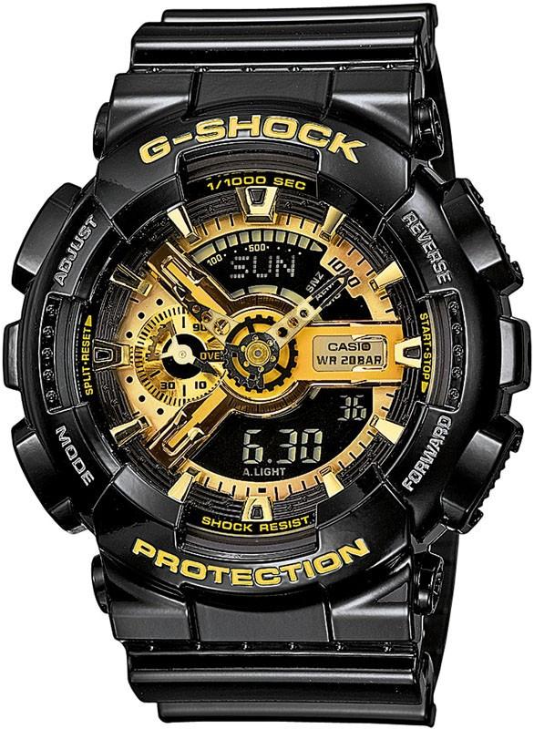 Часы наручные мужские Casio GA-110GB-1AER (модуль №5146)