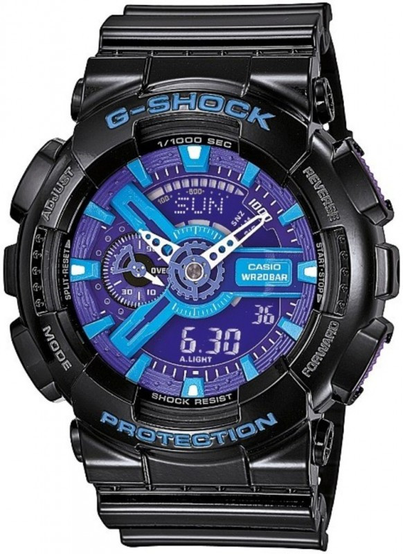 Часы наручные мужские Casio GA-110HC-1AER (модуль №5146)
