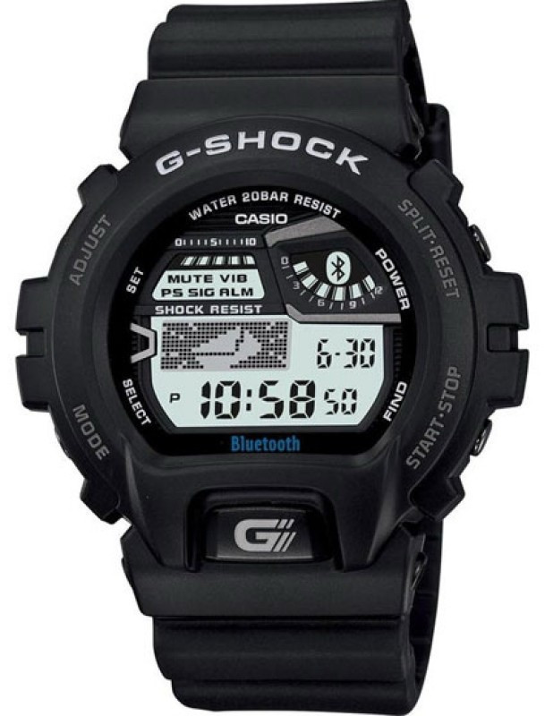 Часы наручные мужские Casio GB-6900AA-1BER Bluetooth