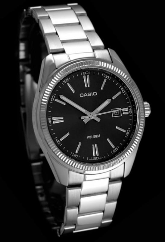 Часы наручные мужские Casio MTP-1302D-1A1VEF (модуль №2784)