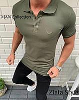 Мужская стильная футболка-поло, фото 1