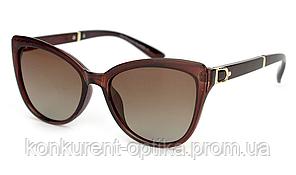 Женские солнцезащитные очки-бабочка полароид