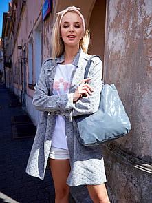 Жіноча сумка шоппер лакова shopper