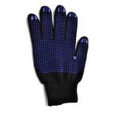 Рукавички Майстер Боб трикотажні 667 синьо-чорні