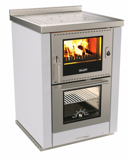 Дров'яна варочно опалювальна піч Rizzoli 60 ML