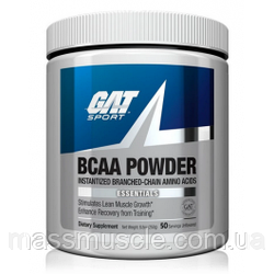 Амінокислоти GAT Sport GAT Essential BCAA Powder 250 г