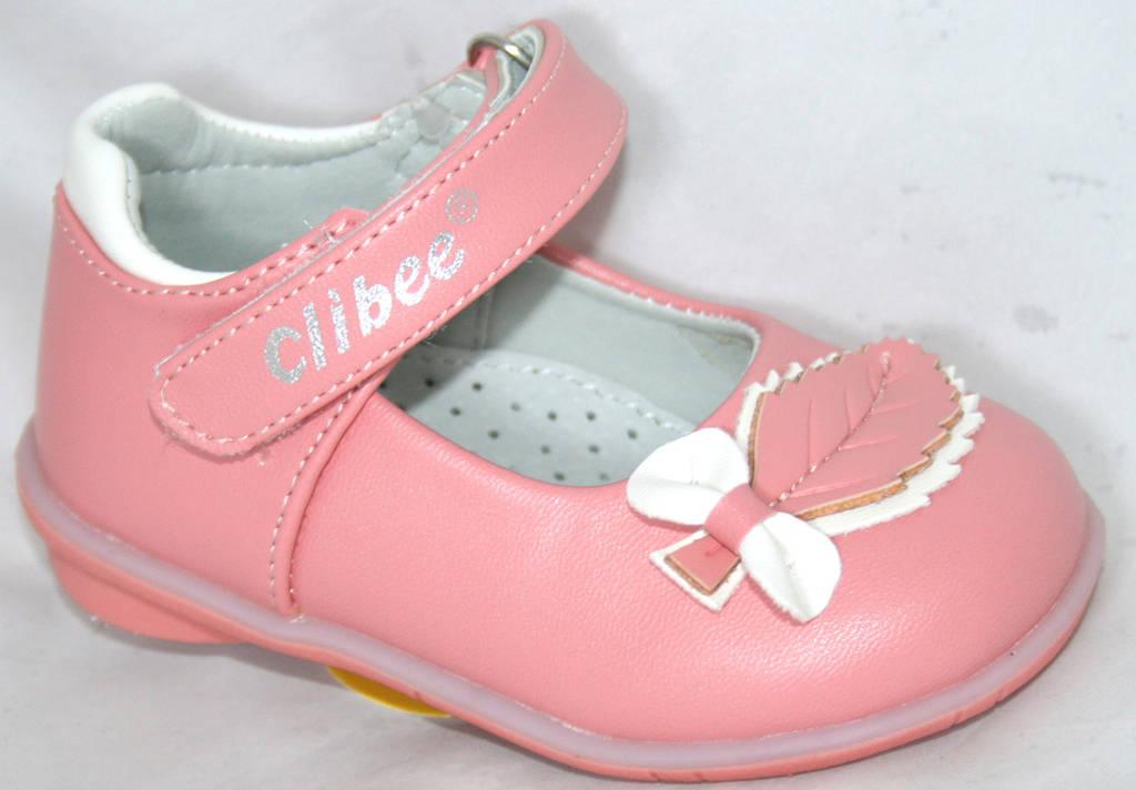 Детские нарядные туфельки для девочек Clibee 20-25