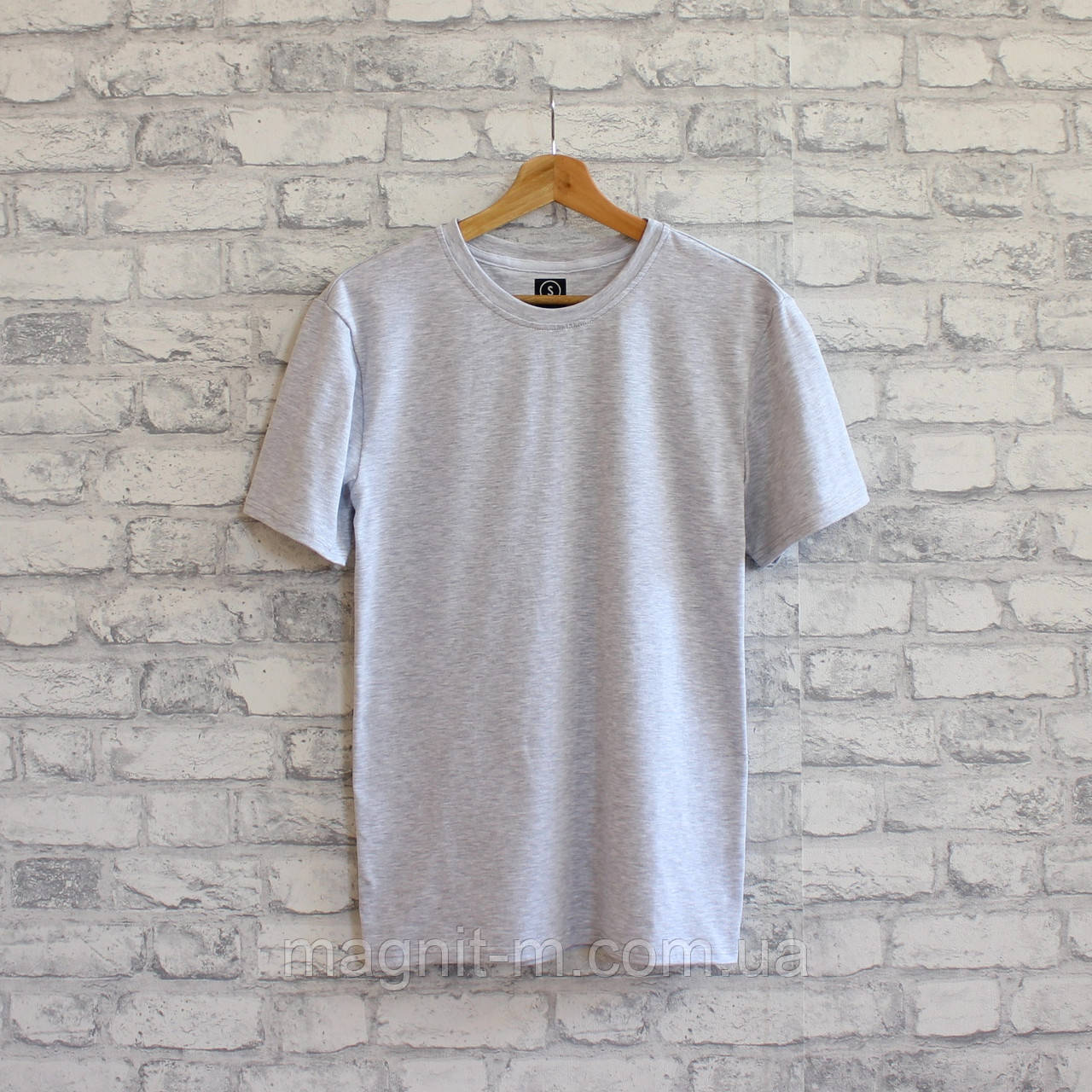 Жіноча футболка з турецької тканини високої якості. Сірий колір. №02.