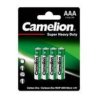 Батарейки Camelion R03P-BP4G Green Shrink 1x4 шт AAA