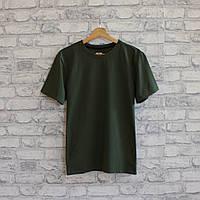 Женская футболка из турецкой ткани высокого качества. Цвет хаки. №02.