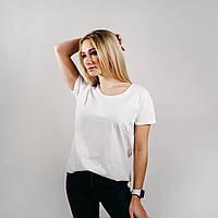 Классическая белая женская футболка «Fruit of the Loom»