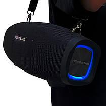 Портативна бездротова Bluetooth колонка Hopestar Original H1 PARTY SUPPER BASS Black чорна Speaker, фото 2
