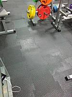 Резиновое напольное покрытие в Тренажёрный зал
