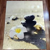 Дизайнерское настенное панно из плитки Цветок