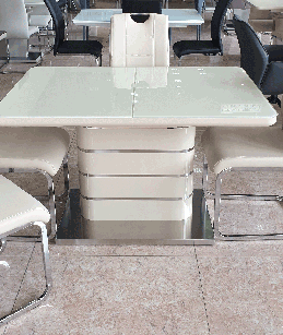Стіл обідній розкладний TM-52-1 Vetro Mebel ™