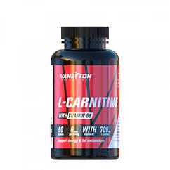 Жиросжигатель L-карнитин (60 капс.) Ванситон