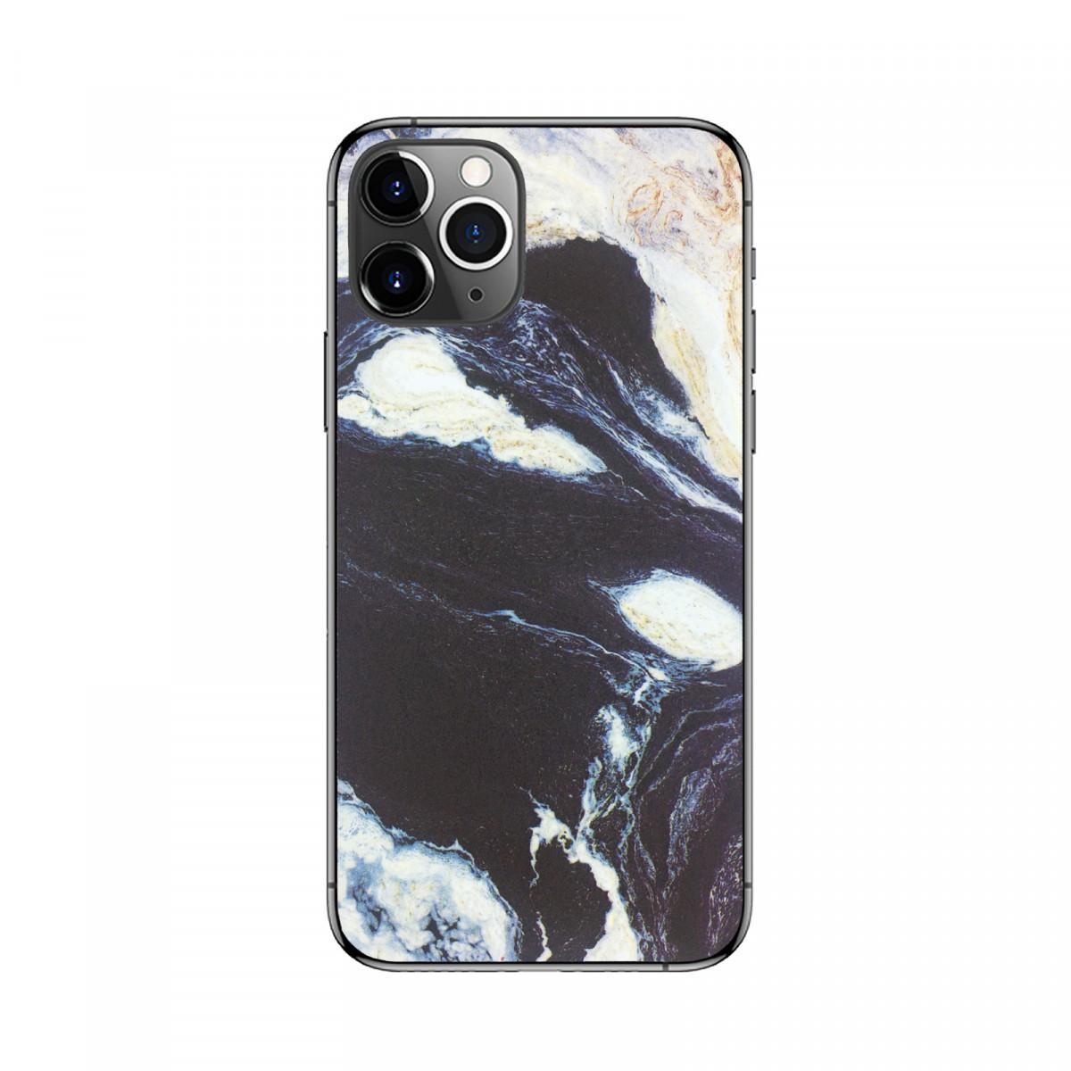 Захисна 3D плівка на телефон Сірий Мармур