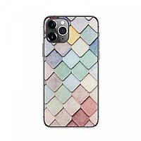 Защитная пленка / чехол для смартфона - Цветная Сетка
