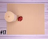 Цветная вощина для изготовления свечей, лист 20х26 см, айвори, фото 2