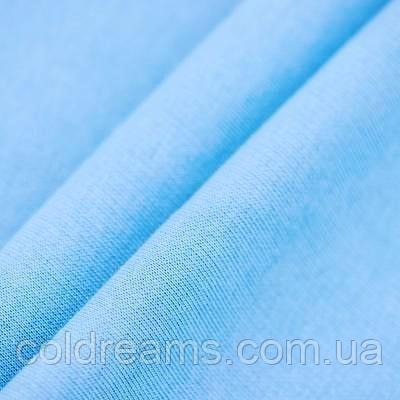 Футер двунітка Блакитна - 180см.