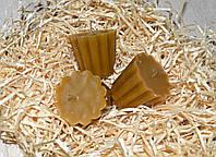 Свеча из натурального воска Кекс, набор 3 шт.