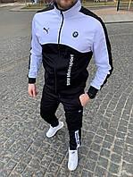 Мужской спортивный костюм Puma красный Пума BMW Motorsport