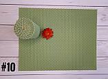 Цветная вощина для изготовления свечей, лист 20х26 см, мятный, фото 2