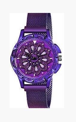Часы Rotation Watch ФИОЛЕТОВЫЕ