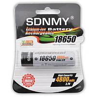 Оригинальный  Аккумулятор литий-ионный 4800 мАч, 18650 SDNMY с защитой