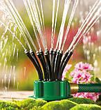Умная система полива огорода и сада Fresh Garden насадка на шланг 12 в 1 опрыскиватель 360 градусов опроситель, фото 3