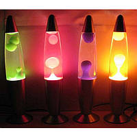 "Ночник-светильник ""Лавовая лампа"" 34 см Лава лампа"