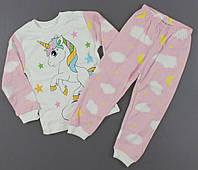 Пижама с единорогом  для девочек