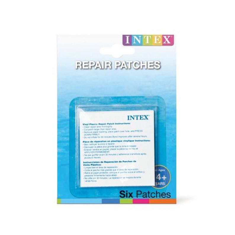 Ремкомплект Intex 59631, для надувних виробів, 7х7см