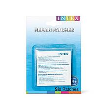 Ремкомплект Intex 59631, для надувных изделий, 7х7см