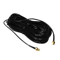 WiFi кабель удлинитель антенна HLV RP SMA 20 м, фото 3