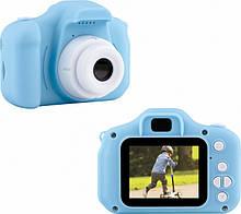 Детский цифровой фотоаппарат kids camera  синий