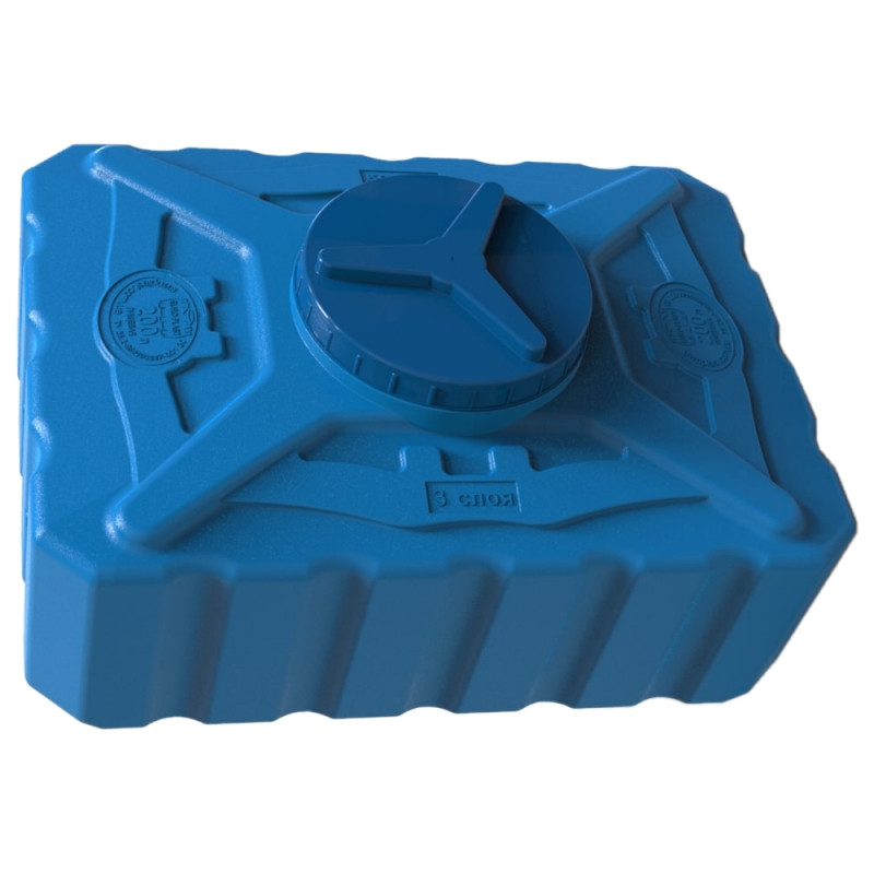 Емкость пластиковая 200 л квадратная (трёхслойная)