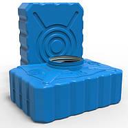 Емкость пластиковая 200 л квадратная (трёхслойная), фото 4
