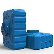 Емкость пластиковая 200 л квадратная (трёхслойная), фото 5