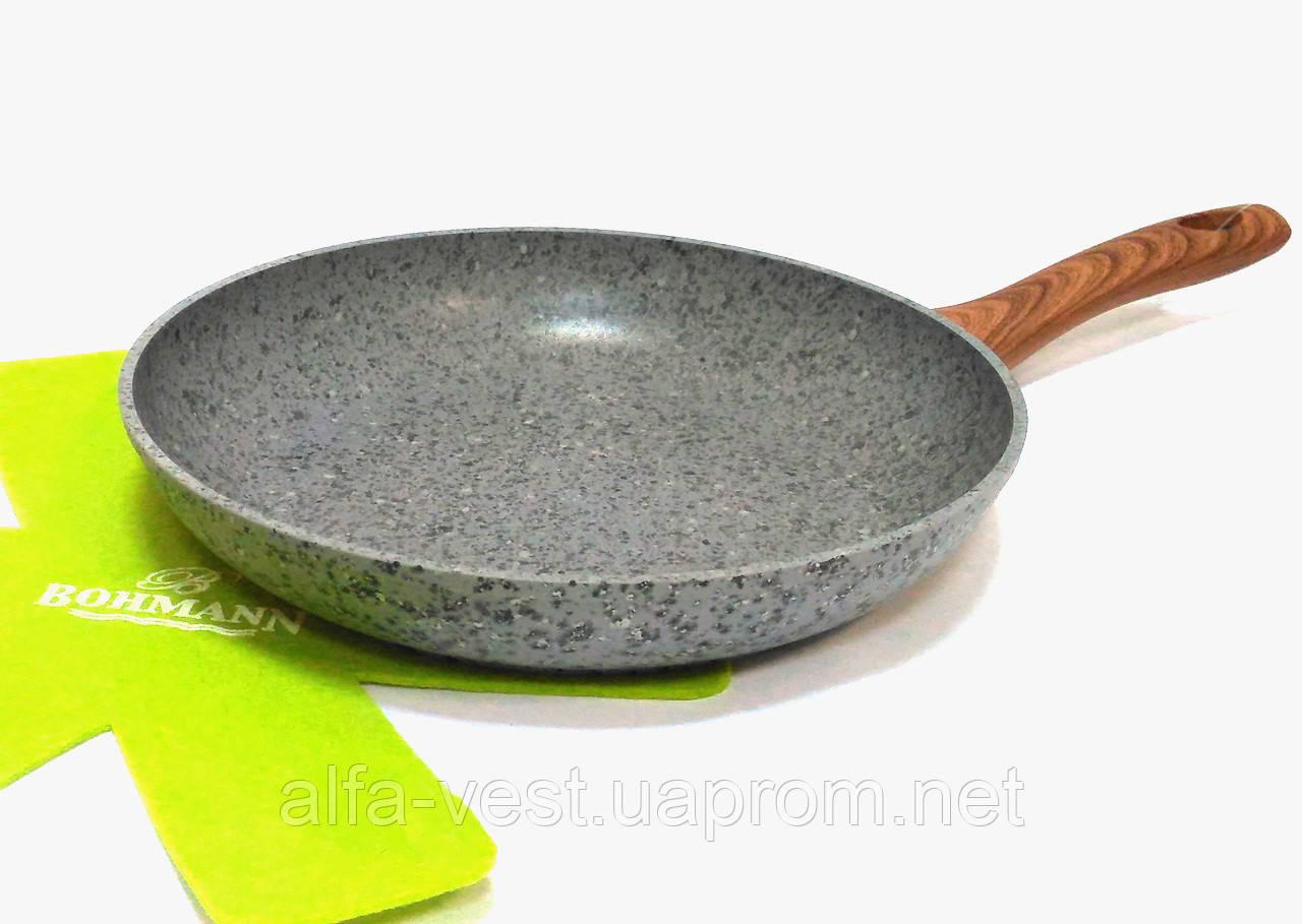 Сковорода з гранітним покриттям 20 см Bohmann BH 1015-20 GRN