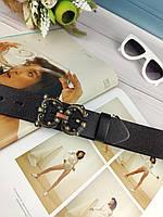 Кожаный женский ремень Dolce & Gabbana (Дольче Габбана)