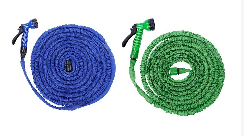 Поливочный шланг X HOSE 30m 100FT с распылителем в комплекте / гибкий шланг для полива