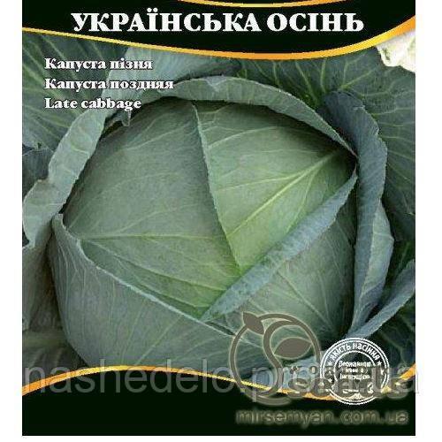 Українська осінь капуста 10 гр. Світ насіння