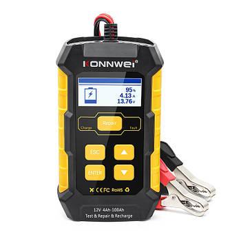 Автомобильно аккумуляторный тестер KONNWEI KW510 зарядное устройство и ремонт 3 в 1 12V