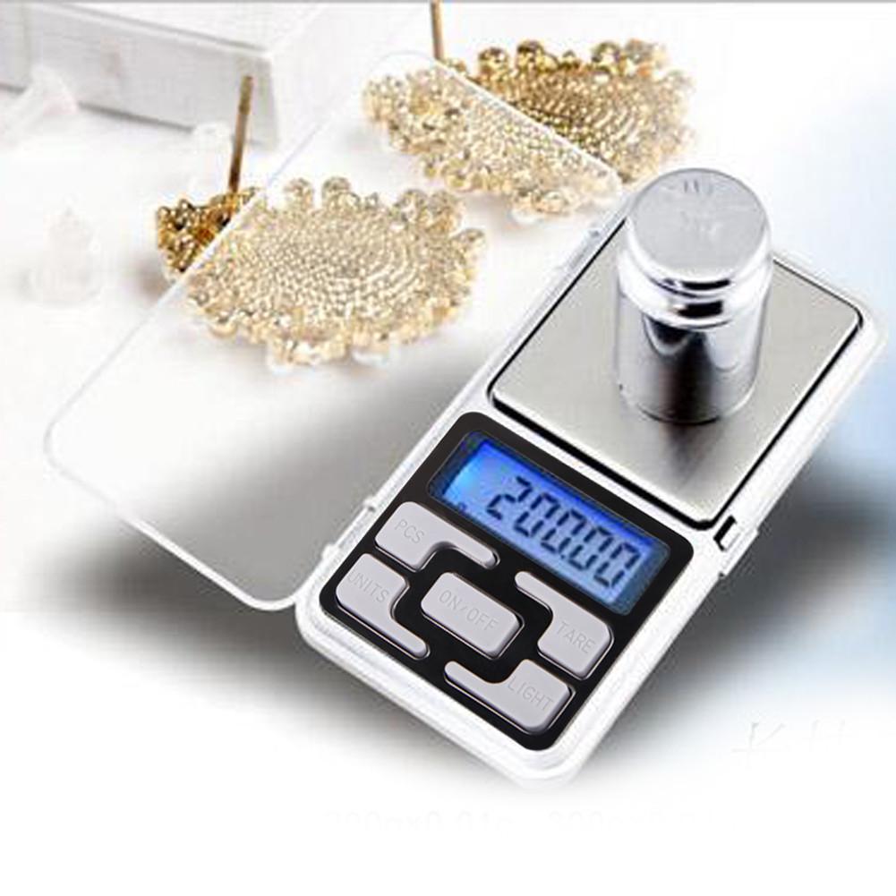 Портативні ювелірні ваги 200 гр